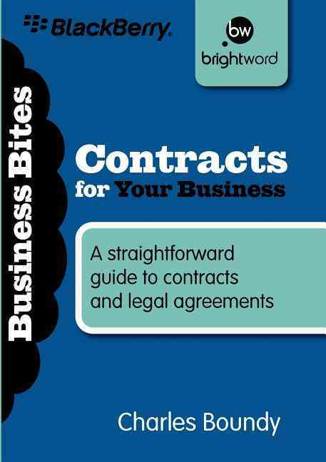 Contracts for Your Business By Boundy, Charles